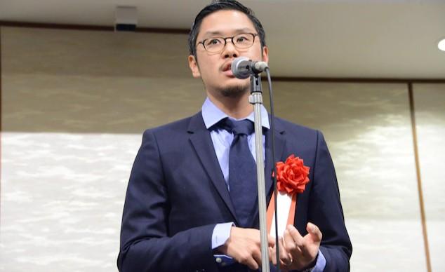 『メランコリック』田中征爾監督 2019年度『新藤兼人賞』の授賞式に出席